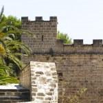 Castle ruins, Denia Spain — Stock Photo #8749806