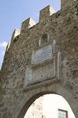 Puerta de la Cadena, Spanish wall, Brihuega, Spain — Photo