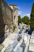 Cemitério do século xviii — Fotografia Stock
