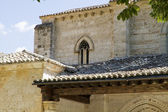 Church of San Miguel, Romanesque transition, thirteenth century. — Stock Photo