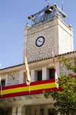 Typisk fasad av stadshuset, spanien — Stockfoto
