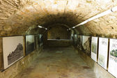丹尼亚西班牙城堡废墟 — 图库照片