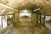 Arabic castle in Denia Spain, tunnel — Stock fotografie