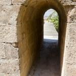 Castle ruins, Denia Spain — Stock Photo #8750318