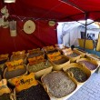 Street vendor of medicinal herbs - Stockfoto