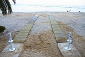 Underbar spansk strand på sommaren — Stockfoto