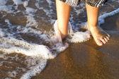 Gorgeous spanish Beach in Summertime — Stock Photo