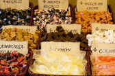 Candy pouliční port — Stock fotografie