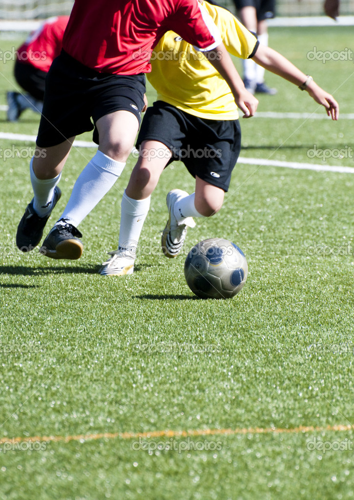 Picture of a football scene.  Stock Photo #8752747