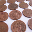 Tibet coins — Stock Photo