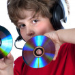 To listen music — Stock Photo