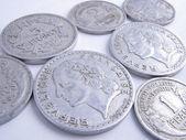 Monety francuskie — Zdjęcie stockowe