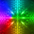 Rainbow background - Stock Photo