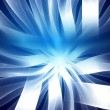Technological design abstract blue background, fiber optics. Sug - Stock Photo