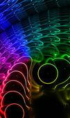 Barva pozadí tvůrčí s duhový efekt — Stock fotografie