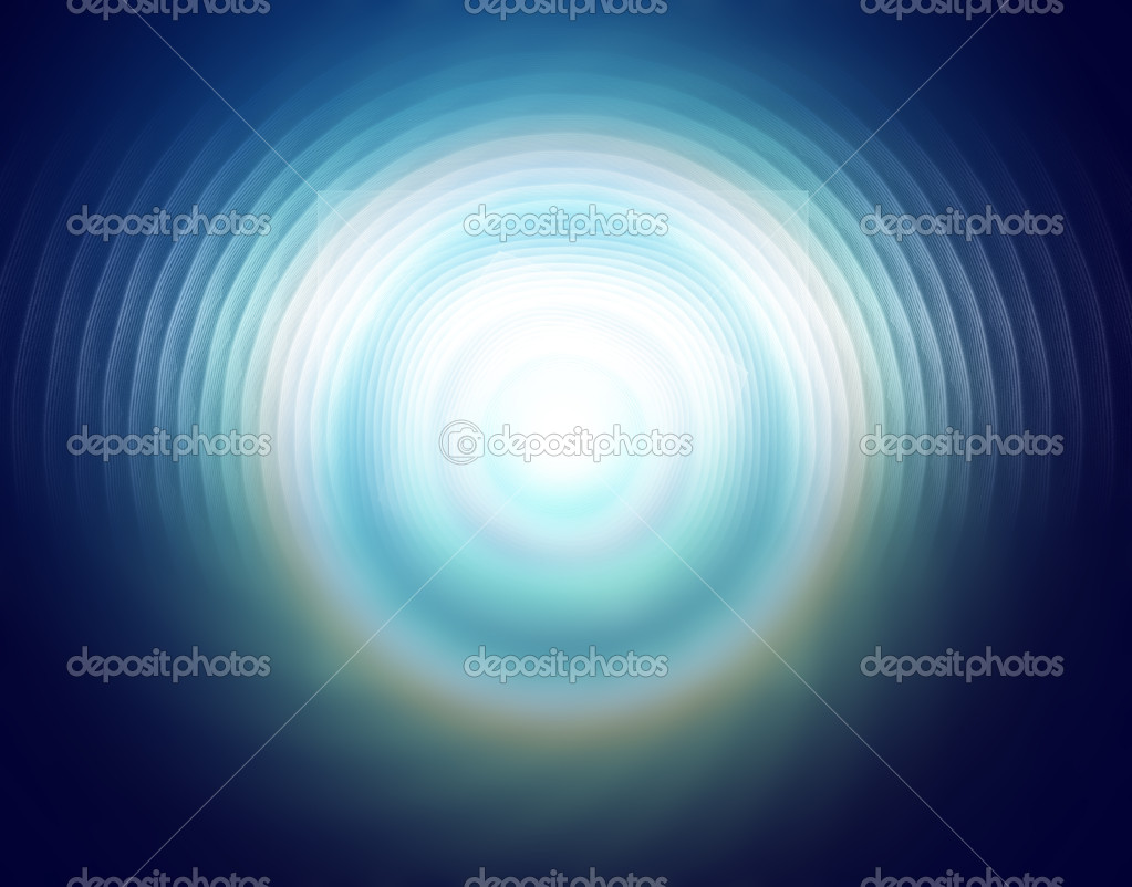 Creative background with blue defocused effect  Stock Photo #8922755