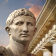 Statue of Julius Caesar Augustus in Rome — Stock Photo #9477408