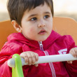 Baby boy playing at park — Stock Photo #9477510