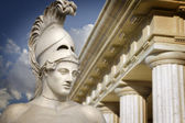 Bust of the greek statesman Pericles — Stock Photo