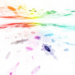 Rainbow background — Stock Photo #9481838