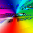 Rainbow background — Stock Photo #9482852