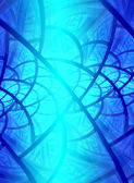 Blue background. — 图库照片