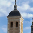 Church with bell tower, typical Spanish - Stock Photo