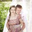 Happy married couple — Stock Photo #10458034