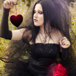 Gothic bride — Stock Photo #10621066