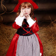 Little Red Riding Hood — Stock Photo #8640186