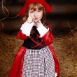Stock Photo: Little Red Riding Hood