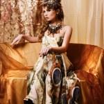 Elegant fashionable woman — Stock Photo #8693202