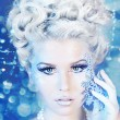 Snow queen - Stock Photo