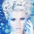 Snow queen — Stock Photo #8694820