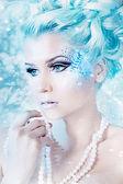 Kar kraliçesi — Stok fotoğraf