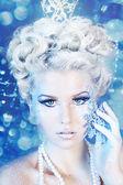 снежная королева — Стоковое фото