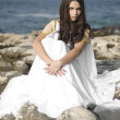 Fashion shoot of Aphrodite styled young woman — 图库照片 #9597281