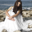 Fashion shoot of Aphrodite styled young woman — ストック写真