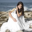 Fashion shoot of Aphrodite styled young woman — 图库照片 #9597305
