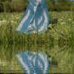 The girl ashore. Fairy-tale — Stock Photo