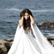 Fashion shoot of Aphrodite styled young woman — Stok fotoğraf