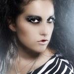 魅力女人的艺术照片 — 图库照片