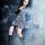 foto d'arte di una donna glamour — Foto Stock