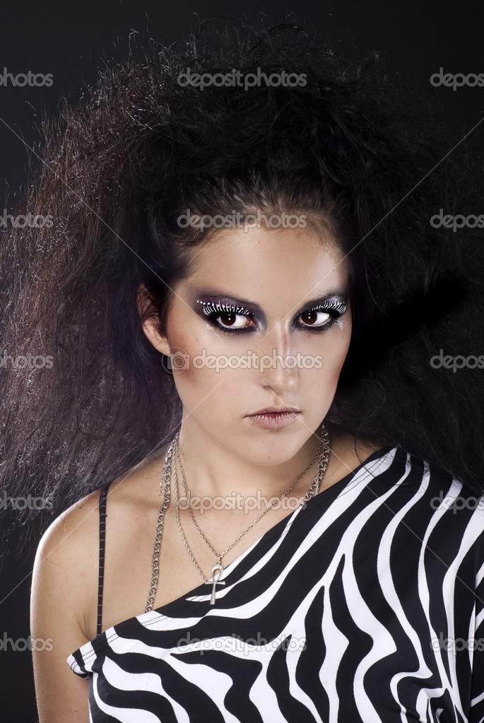 Fine art photo of a glamour woman — Stock Photo #9723119