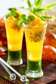 Passion fruit juice — Stock Photo