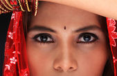 Eastern girl close up — Stockfoto