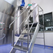 Pharmaceutical Manufacturing process - Stock Photo