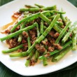 Stock Photo: Dried sauteed string beans dish
