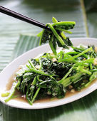 Chinese stir fried vegetable dish — Stock Photo