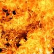 Royalty-Free Stock Photo: Blazing fire background